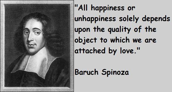 Baruch Spinoza's quote #1