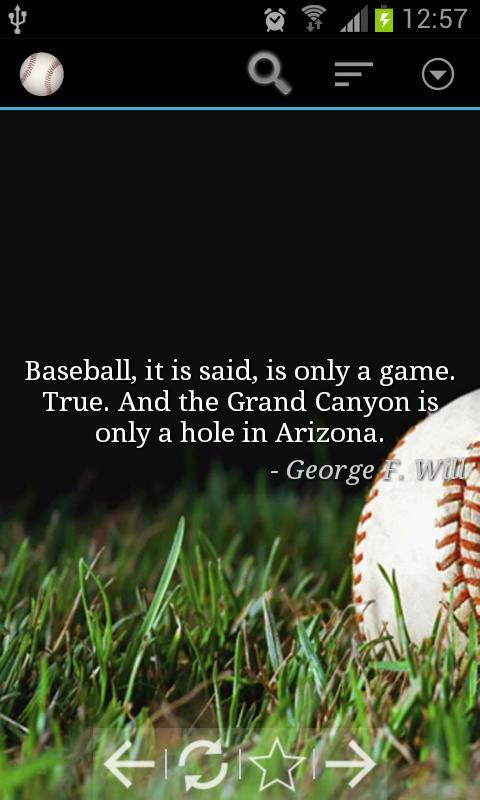 Baseball quote #1