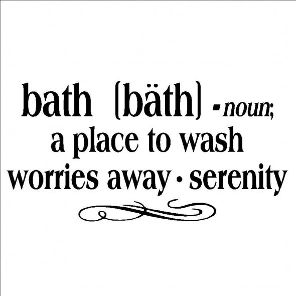 Bathing quote #1