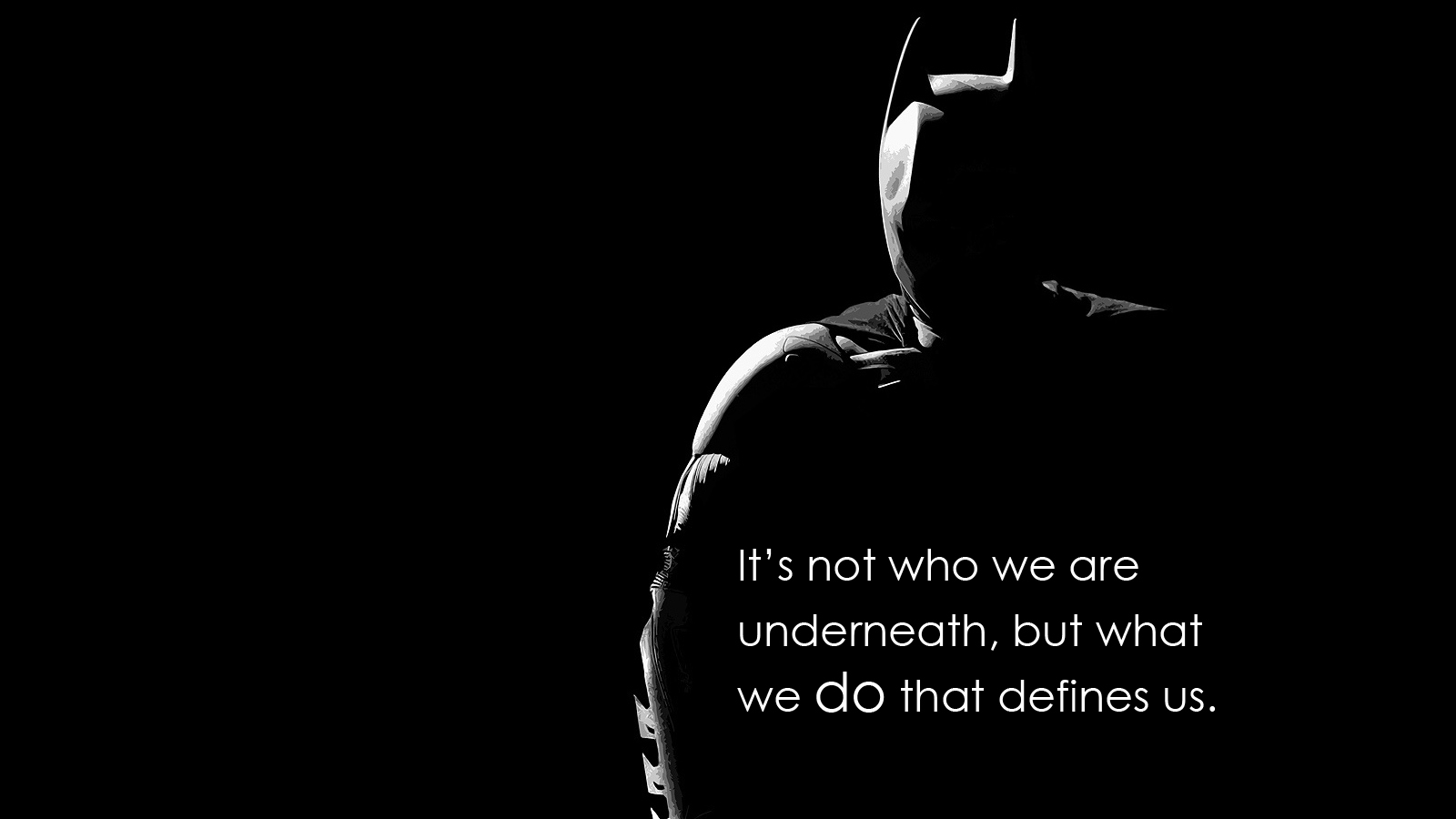 Batman quote #1