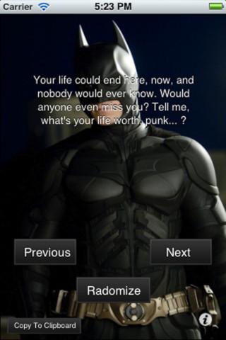 Batman quote #8