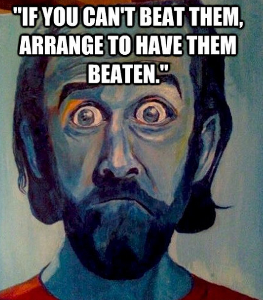 Beaten quote #1