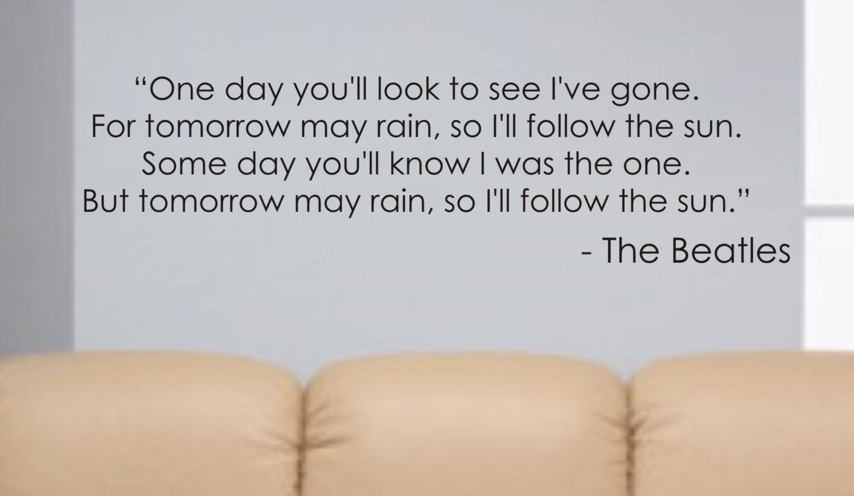 Beatles quote #1