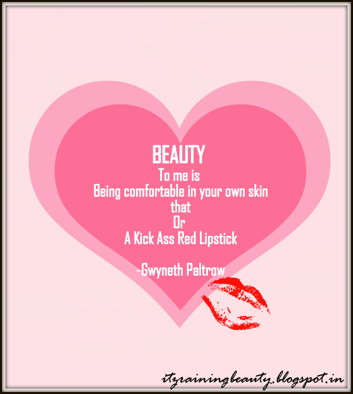 Beauty quote #1
