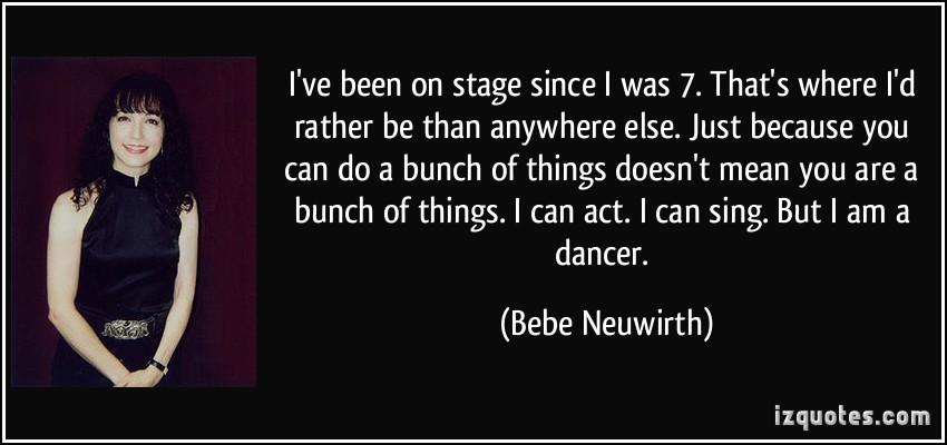 Bebe Neuwirth's quote #6