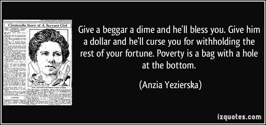 Beggar quote #1