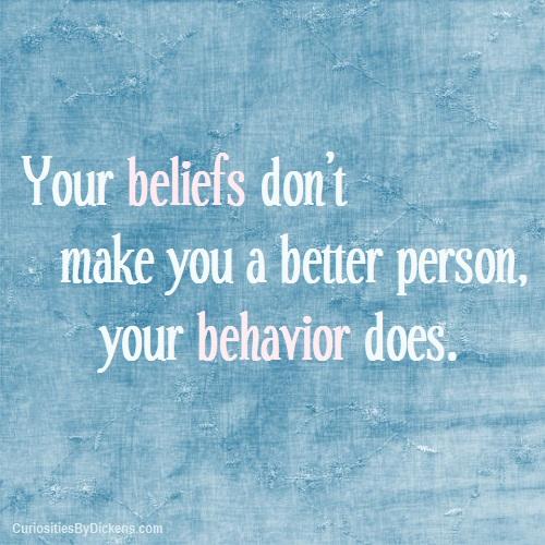 Behaviors quote #1