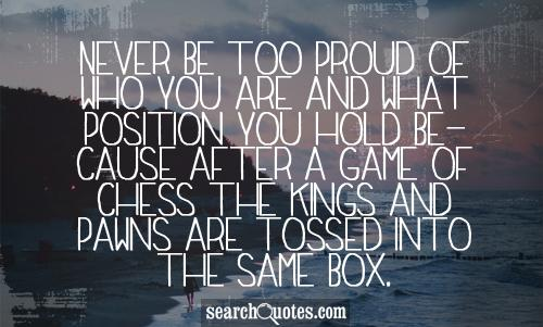 Being Proud quote #1