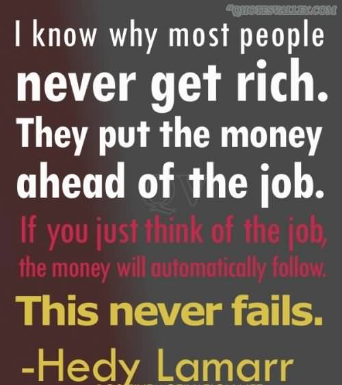 Being Rich quote #1