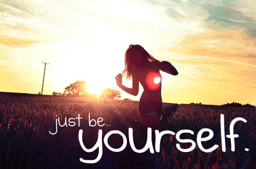Being Yourself quote #2