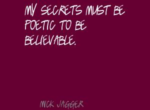 Believable quote #1