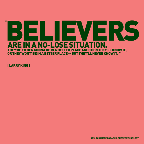 Believers quote #1
