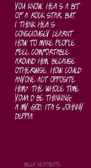 Bella Heathcote's quote #5