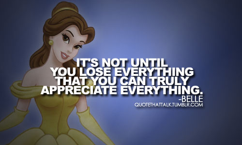 Belle quote #1