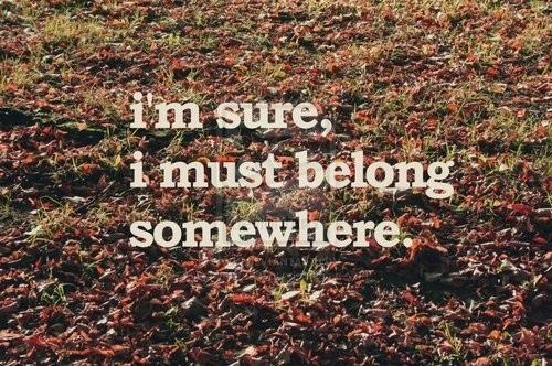 Belong quote #3