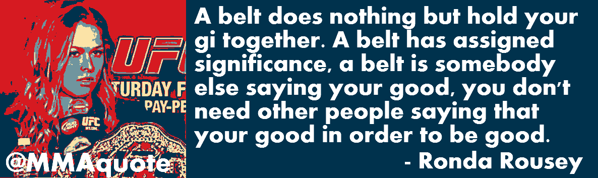 Belts quote #1