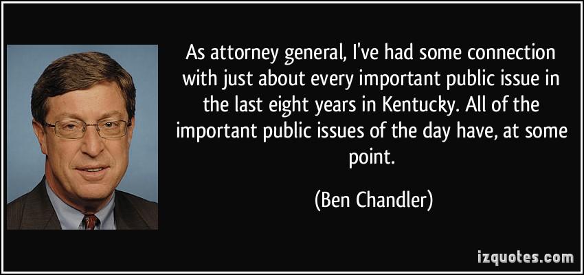 Ben Chandler's quote #1