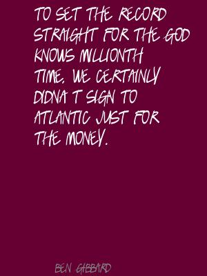 Ben Gibbard's quote #4