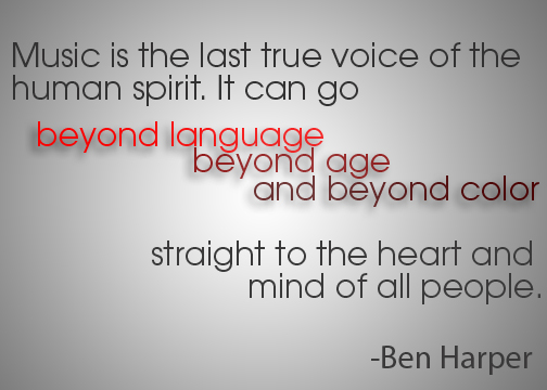 Ben Harper's quote #3