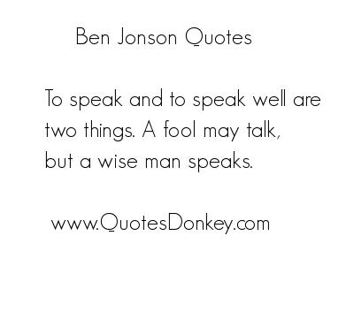Ben Jonson's quote #7