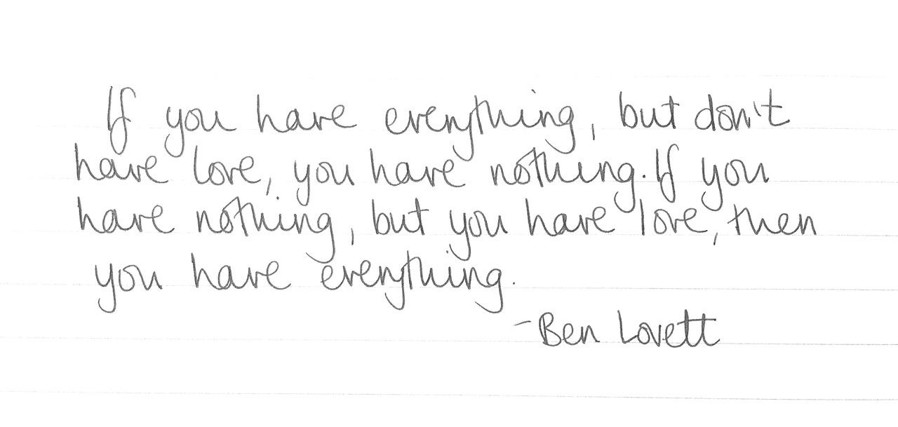 Ben Lovett's quote #4