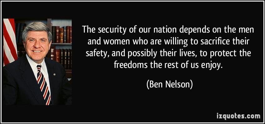 Ben Nelson's quote #6