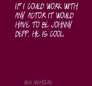 Ben Nicholas's quote #4