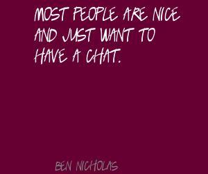 Ben Nicholas's quote #1