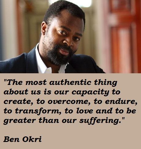 Ben Okri's quote #4