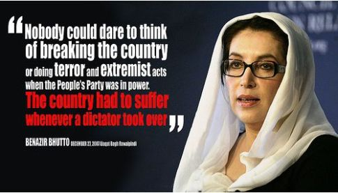 Benazir Bhutto's quote #4