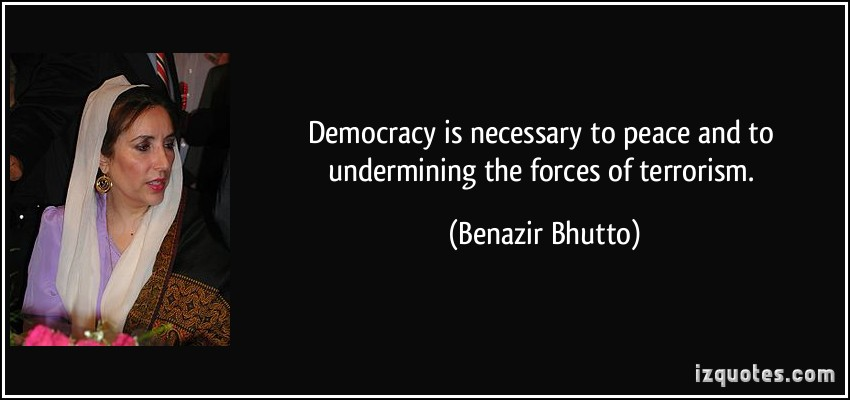 Benazir Bhutto's quote #7