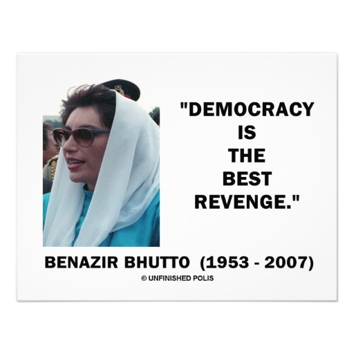 Benazir Bhutto's quote #1