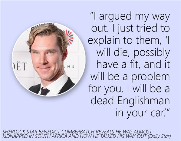 Benedict Cumberbatch's quote #2