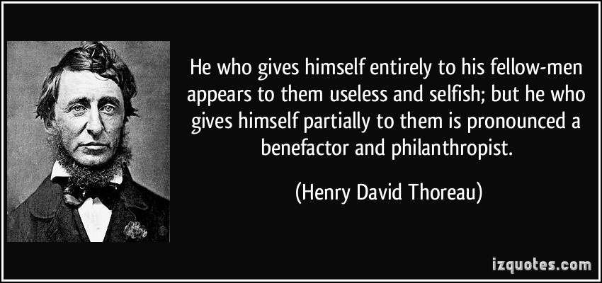 Benefactor quote #1