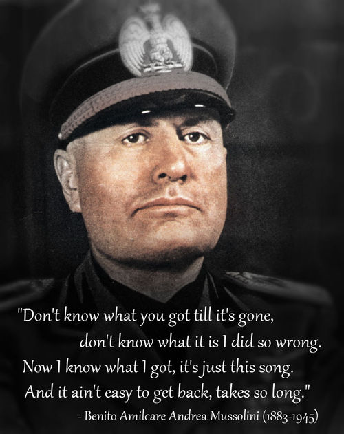 Benito Mussolini's quotes, famous and not much   Sualci Quotes