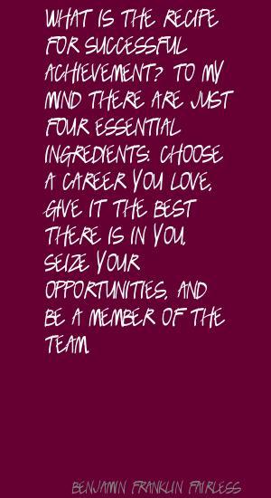 Benjamin Franklin Fairless's quote