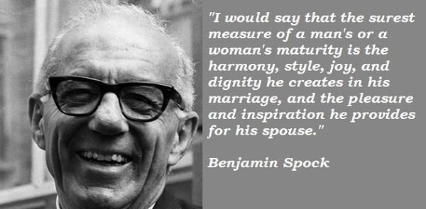 Benjamin Spock's quote #1