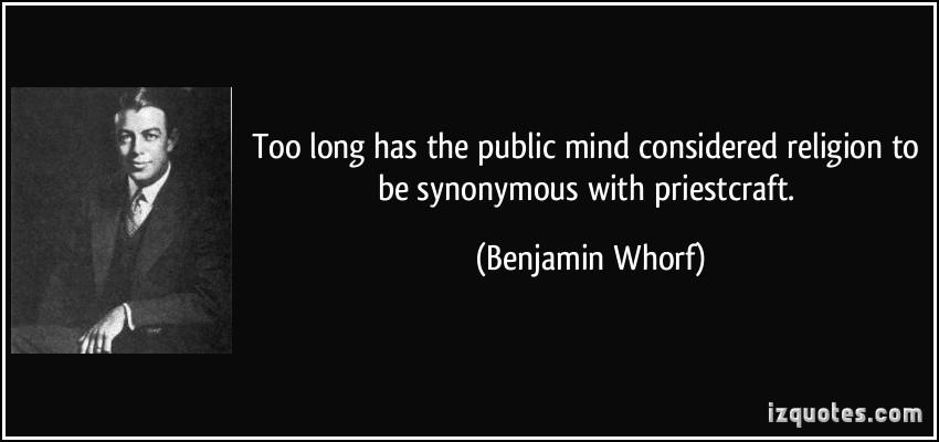 Benjamin Whorf's quote #1