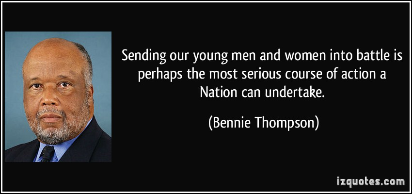 Bennie Thompson's quote #1