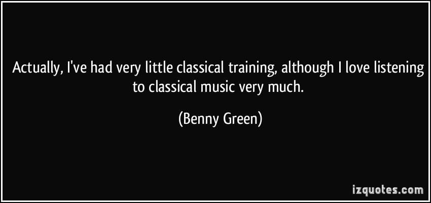 Benny Green's quote #2