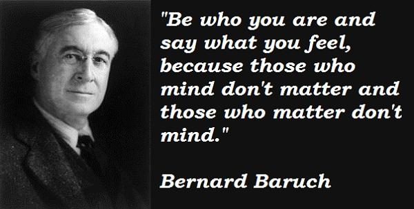 Bernard Baruch's quote #1