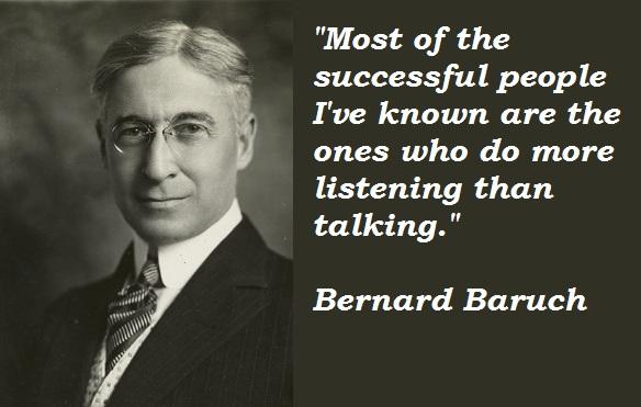 Bernard Baruch's quote #3