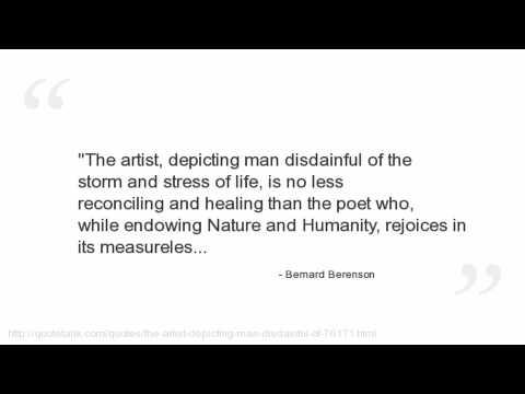 Bernard Berenson's quote #4