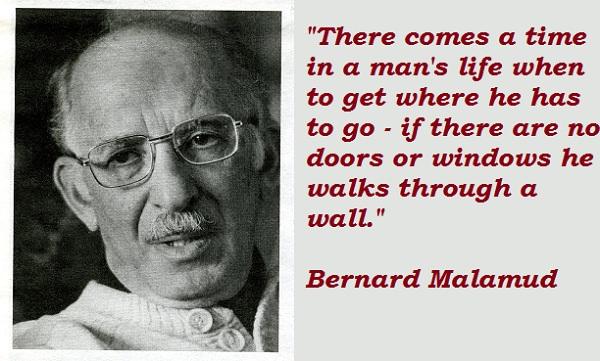 Bernard Malamud's quote #6