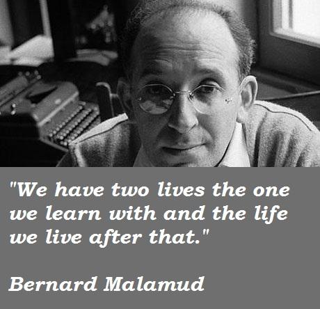 Bernard Malamud's quote #3