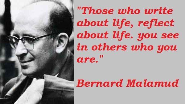 Bernard Malamud's quote #1