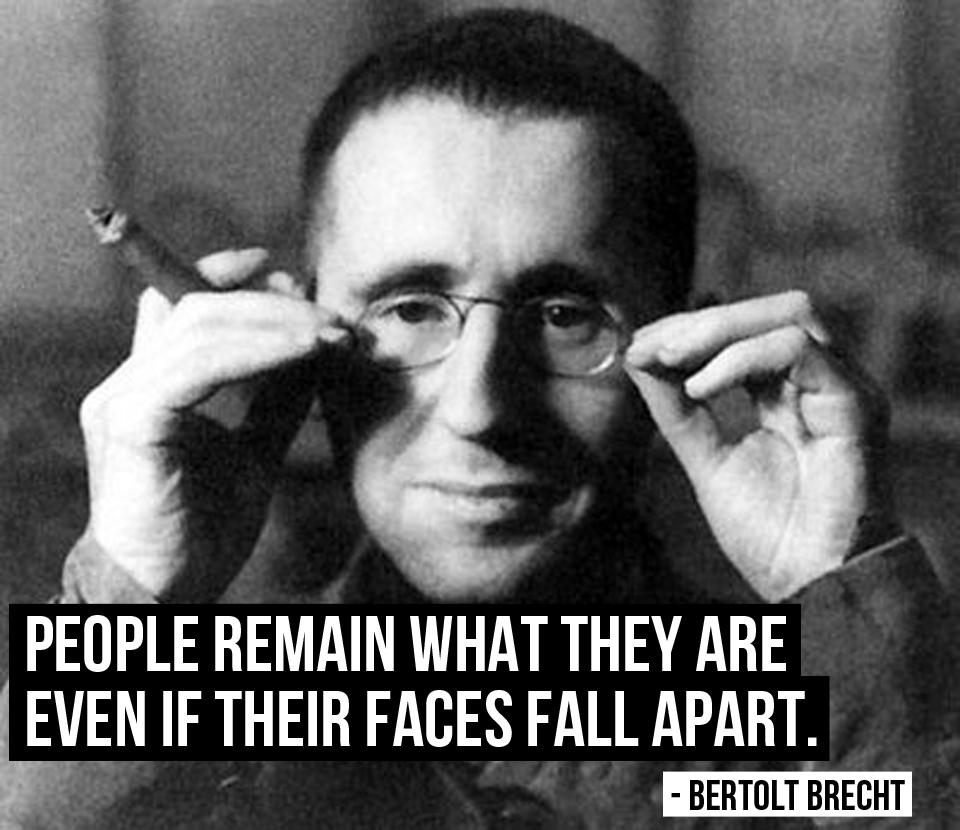 Bertolt Brecht's quote #7