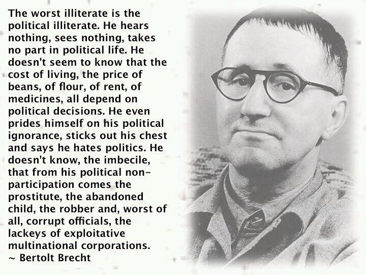Bertolt Brecht's quote #4