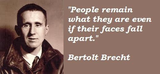 Bertolt Brecht's quote #8