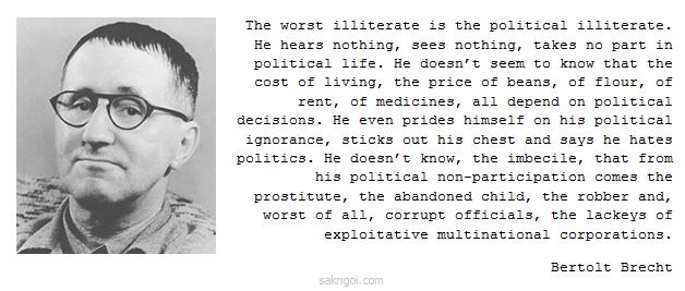 Bertolt Brecht's quote #2